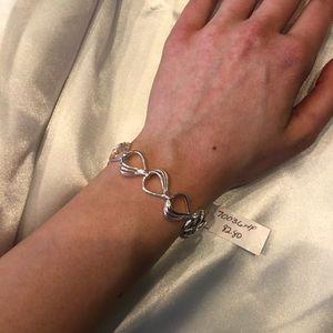 Brand New Kit Heath Sterling Silver Link Bracelet